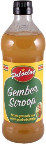 Paloeloe gember siroop