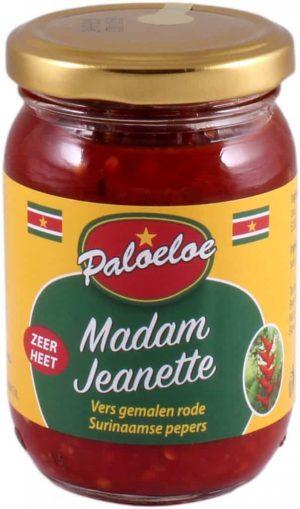 Paloeloe madam jeanette sambal