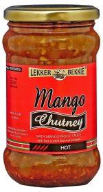 lekkerbekkie mango chutney