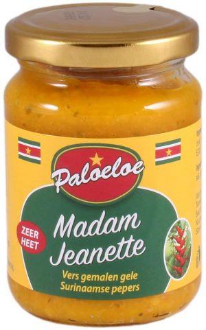 Paloeloe Madam Jeanette geel