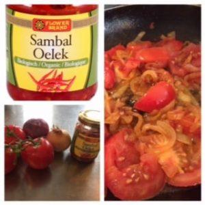 sambal tomaat zelfgemaakt