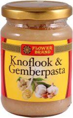 Flowerbrand knoflook-gemberpasta