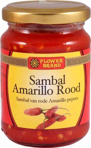 Flowerbrand sambal amarillo rood
