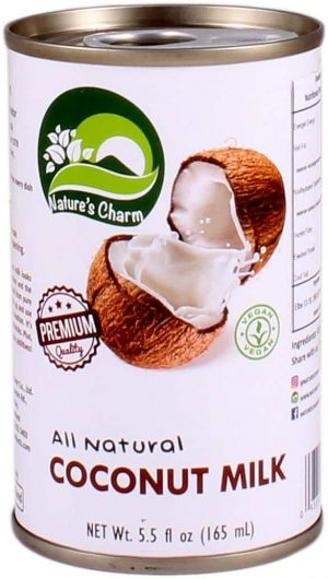 Nature's Charm cocosmelk all natural 165ml