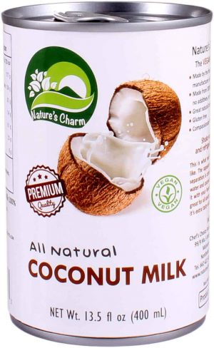 Nature's Charm cocosmelk all natural 400ml
