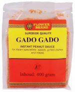 Flowerbrand gado gado instant peanut sauce 400 gram