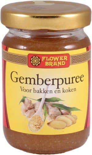 Flowerbrand gemberpuree 100 gram