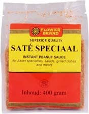 Flowerbrand sate speciaal 400 gram 6 zakjes per doos