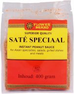 Flowerbrand sate speciaal instant peanut sauce 400 gram