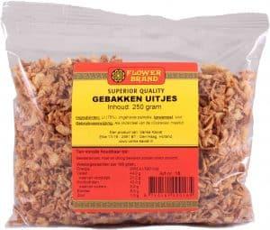 Flowerbrand gebakken uitjes 250 gram