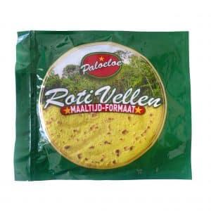 Paloeloe roti vellen maaltijd formaat