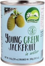 Vegan Nature's Charm young green jackfruit. Zoals u gewend bent is ook dit Nature's Charm product geheel natuurlijk, glutenvrij en Halal.