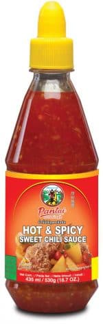 Pantainorasingh hot and spicy chili sauce pet 435ml
