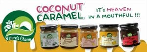 Nature's Charm coconut caramel