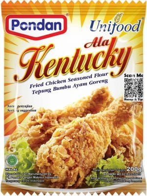 Pondan Unifood ala Kentucky fried chicken seasoned flour tepung bumbu ayam goreng 200gram
