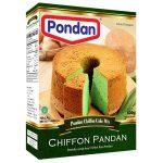 Pondan cakemix chiffon pandan