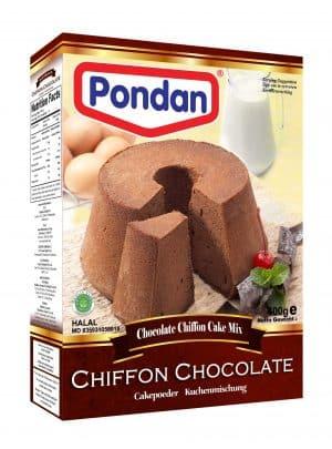 Pondan chocolate chocolade chiffon cakemix