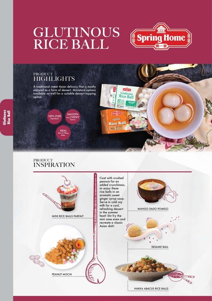 Tee Yih Jia Spring Home glutinous rice ball rijstbal
