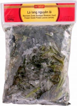 Flowerbrand diepvries zoete aardappel blad 500 gram Vietnam Lá lang nguyên lá
