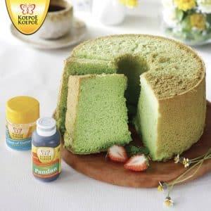 Koepoe Koepoe pandan chiffon cake
