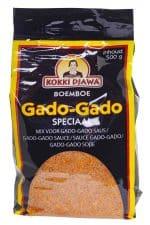 Kokki Djawa boemboe gado gado sate gado saus mix zak 500 gram