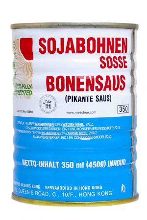 Mee Chun sojabonen saus taotjo soy bean sauce blik 350 ml