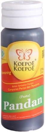 koepoe koepoe pandan essence pasta 25 ml