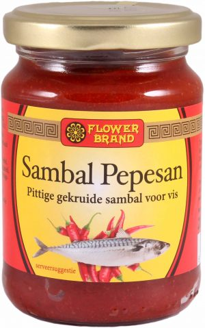 Flowerbrand sambal pepesan 200 gram