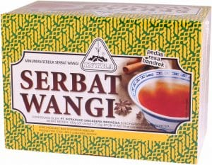 Intrafood serbat wangi thee hot and spicy tea pedas rasa bandrek 430 gram