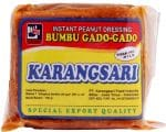 Karangsari bumbu boemboe gado-gado tidak pedas mild