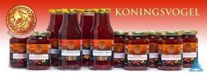Koningsvogel banner sambals en sauzen