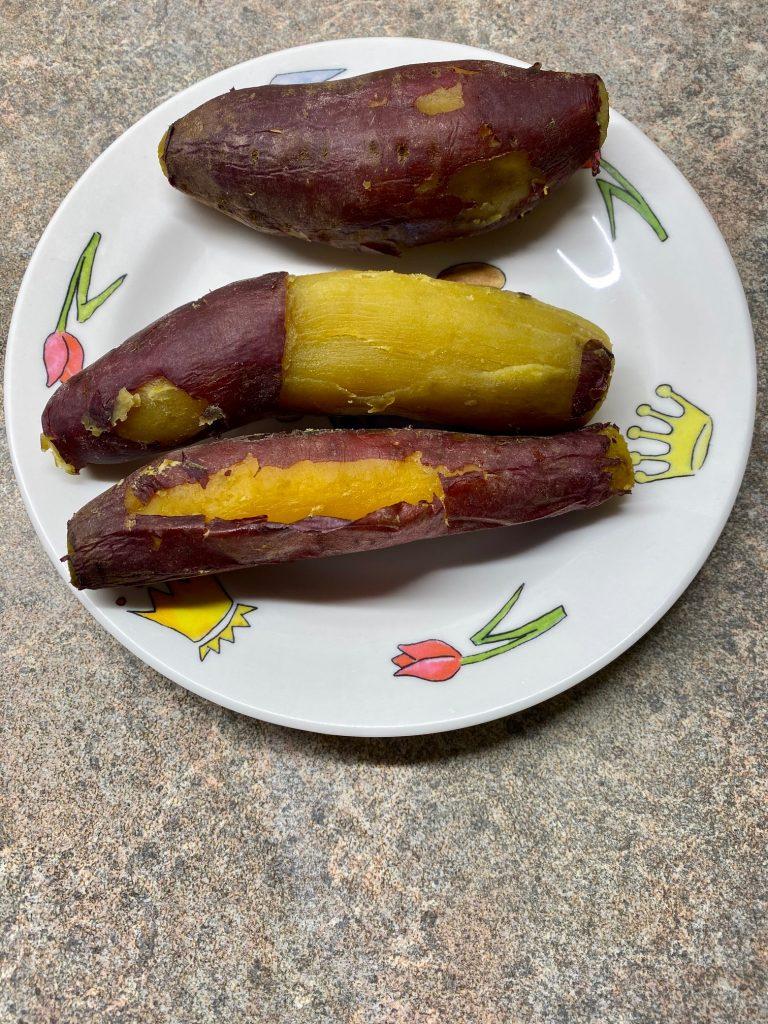 Vanka-Kawat Flowerbrand sweet Japanese potato zoete Japanse aardappel bereid