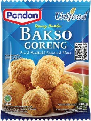 Pondan Unifood tepung bumbu Bakso Goreng fried meatball seasoned flour 200g