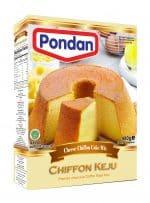 Pondan cheese chiffon keju cakemix