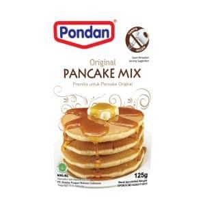 Pondan pancake pannenkoekenmix pouch original 125g pannekoek