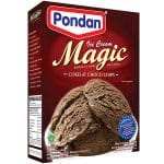 Pondan ice cream magic cokelat choco chips 160g bubuk es krim siap pakai