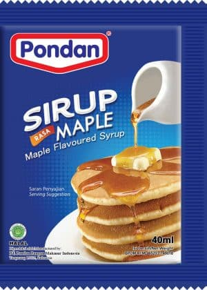 Pondan maple sirup esdoornsiroop 40ml