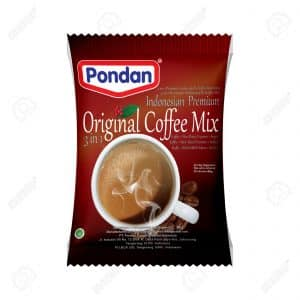 Pondan original coffee mix Indonesian premium 3 in 1