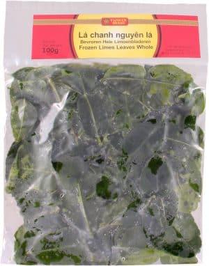 Flowerbrand bevroren hele limoenbladeren la chanh nguyen la 100 gram