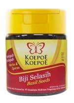 Koepoe Koepoe biji selasih basil seeds basilicum 50 gram