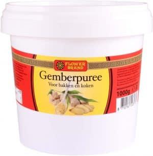 Flowerbrand gemberpuree 1 kg