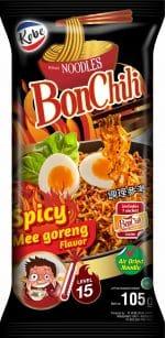 Kobe BonChili noodles spicy mee goreng level 15
