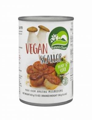 Natures Charm Vegan Scallop