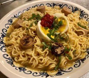 noodles Natures Charm vegan scallops